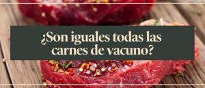 Carne de vacuno… ¿es toda igual? Clases y razas de animales